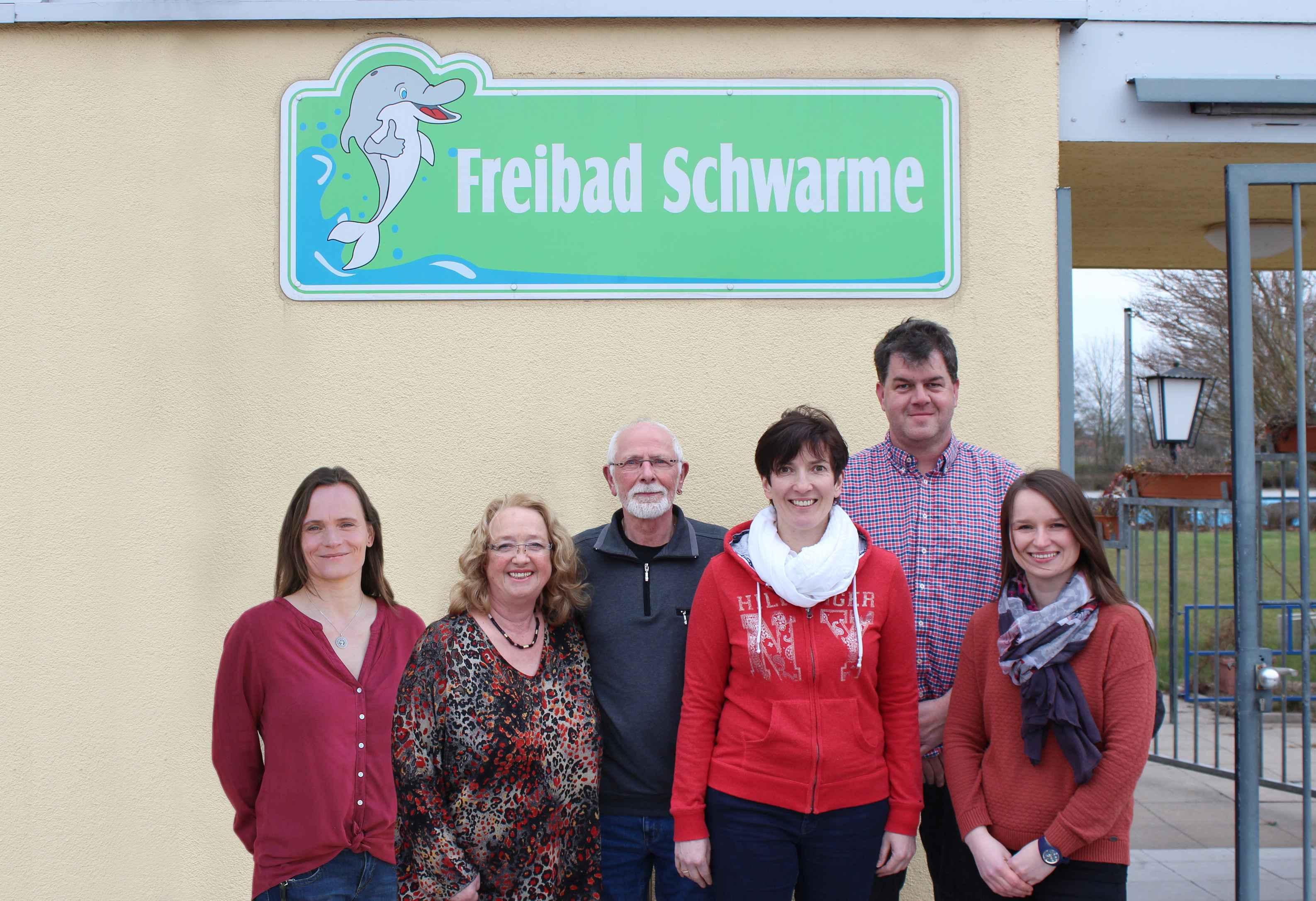Vorstand Förderverein Freibad